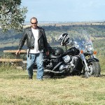 Kawasaki Vulcan Nomad Rohde Trips, Thre Mile Hill Lookout
