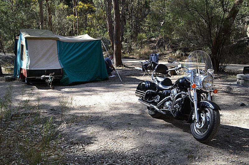 009 kawasaki vulcan nomad camptrip bald rock creek camping. Black Bedroom Furniture Sets. Home Design Ideas