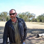 Burp at Clyde Purkiss Memorial Oval