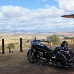 Our Kawasaki Vulcan Nomad at Who'd A Thought It Lookout
