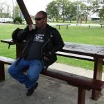 Kawasaki Vulcan Nomad QLD Rohde Trip_Caltex Rest Stop, Macksville_Burp